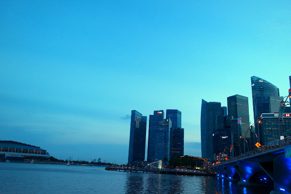 Free Photos - Buildings - Singapore Boat Quay