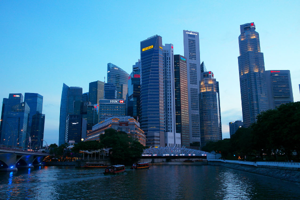 Free Photos - Buildings - Raffles Place - Singapore